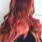 Kızıl Bakır Ombre Saç Rengi 2017