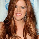 Kohle kardashian kumral karamel saç rengi