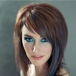 Ombre kahverengi saç renkleri turkuaz 2017