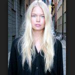 Platin Sarısı Saç Modeli