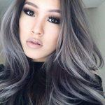 2017 Gri Ombre Saç Renkleri