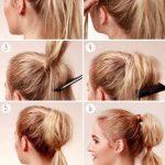 Düzleştirici Kullanılarak Yapılan At Kuyruğu Saç Modelleri