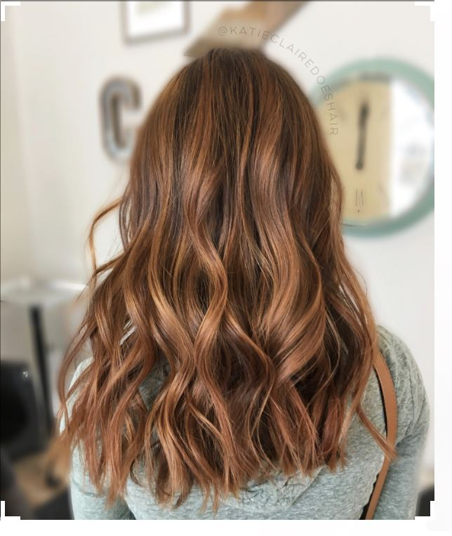 Karamel Kahve 2017 Saç Rengi Modeli