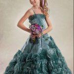 Kız Çocuğu Düğün Nişan Saç ve Abiye Elbise