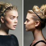 Dağınık Topuz Saç Modelleri 2017