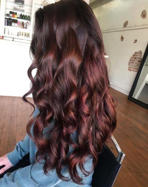 Kızıl Kahve 2017 Saç Rengi