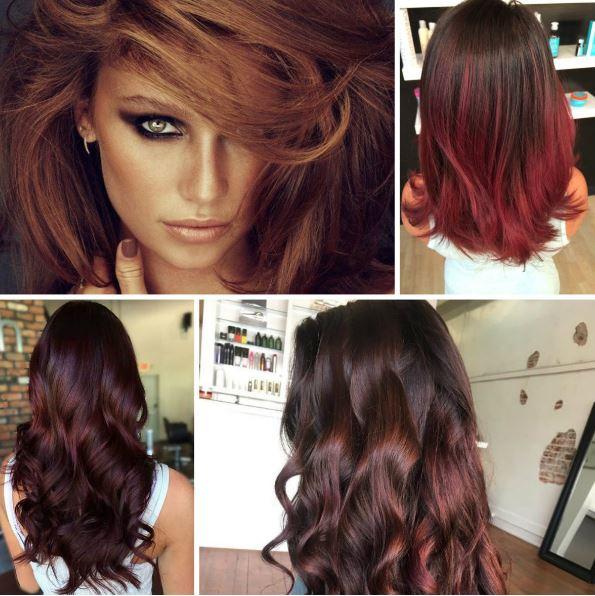 Kızıl Kahve Rüyası Saç Rengi ve Modeli