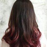 Siyah Saçlara Kızıl Kahve Ombreler