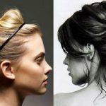 2017 Dağınık Topuz Modelleri Kadınlar