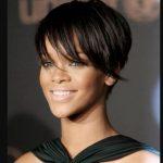 Rihanna Tarz Kısa Saçlar