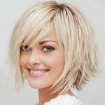 Sarışınlara Özel Tarz Kısa Saçlar