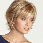 Sarışınlar için Harika Kısa Saç Modeli