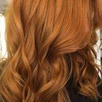Parlak Bakır Saç Rengi