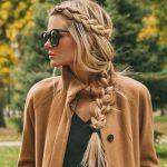 Yazlı kışlı yapılabilir dağınık örgü saç modelleri