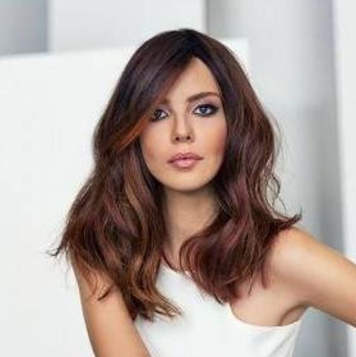 Selen Soyder Ombre Saç Rengi Modeli