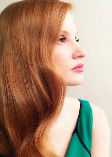 en güzel bakır rengi saç modelleri