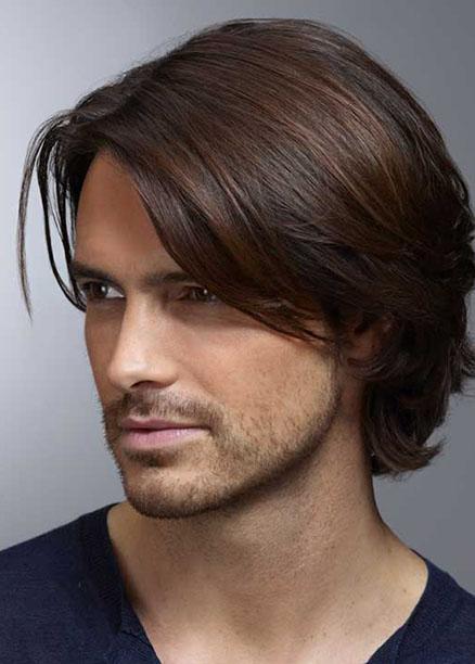 2018 Erkek Uzun Saç Modelleri Saç
