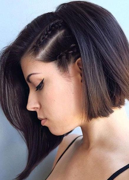 modern 2018 kısa saç modelleri