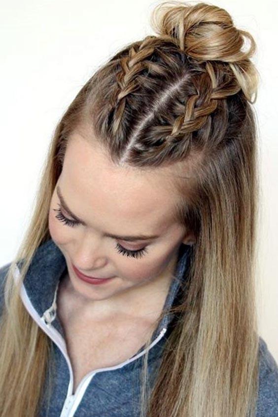 Liseli Kızlar Için En Güzel Saç Modelleri Saç