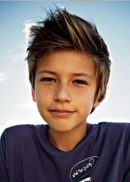 Erkek çocukları Için Yeni Sezon Saç Modelleri Saç