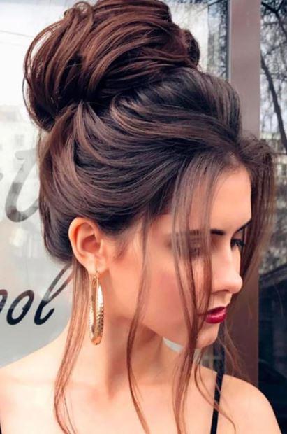 2018 Kadın Topuz Saç Modası Ve Modelleri Saç