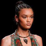 Mısır örgü saç modeli 2018 de çok moda